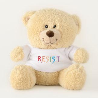 Ours En Peluche Les couleurs d'arc-en-ciel résistent à l'ours de