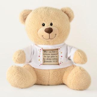 Ours En Peluche Les femmes sont précieuses dans l'oeil de Dieu