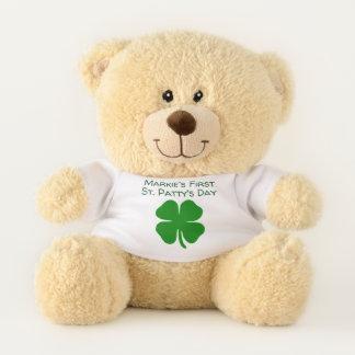 Ours En Peluche L'ours de premier St Patrick