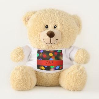 Ours En Peluche Lumières de Noël multicolores