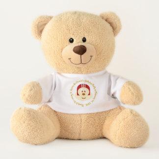 Ours En Peluche Souvenir d'anniversaire - 鮑鮑 rouge T. Bear