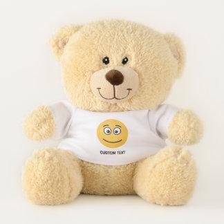 Ours En Peluche Visage de sourire avec les yeux ouverts