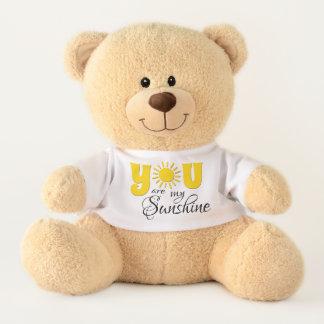Ours En Peluche Vous êtes mon soleil
