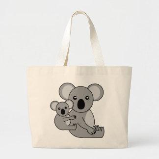 Ours et bébé de koala mignons grand sac