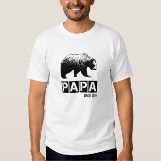 Ours grunge de papa depuis 2014, noir t-shirts