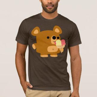 Ours mignon de bande dessinée avec des boules :) t-shirt