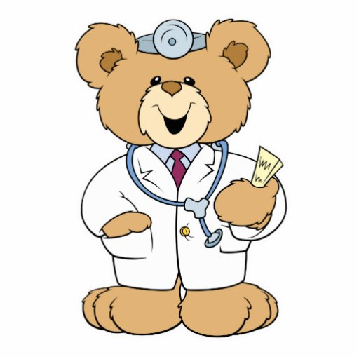 Teddy Bear Doctor Clip Art