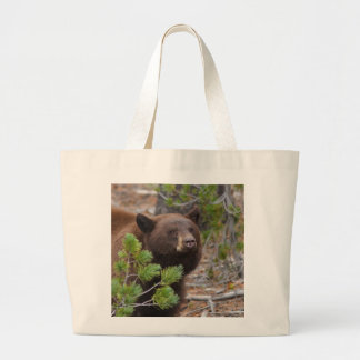 Ours noir sac en toile