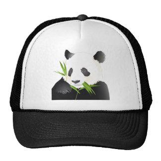 Ours panda casquette trucker