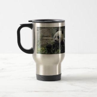 Ours panda chinois géant mug de voyage