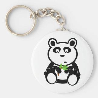 Ours panda d'amour porte-clefs