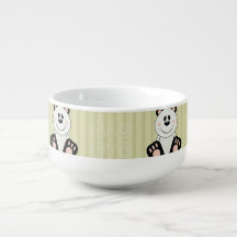 Ours panda de Cutelyn Mug À Potage