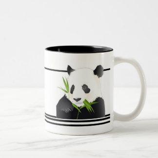 Ours panda mug bicolore