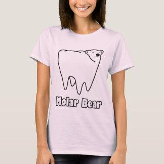 Ours polaire de dent d'ours molaire t-shirt