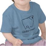 Ours polaire de dent d'ours molaire t-shirts