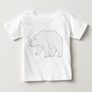Ours Polaire T-shirt Pour Bébé