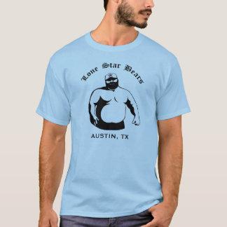 Ours solitaires d'étoile - logo t-shirt