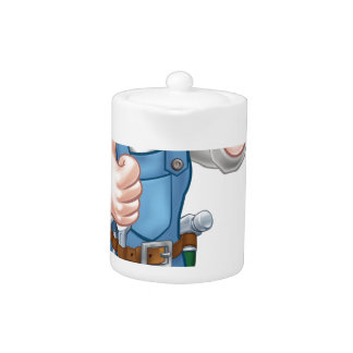 Outil de truelle de travailleur de la construction