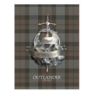 Outlander   la broche de Fraser Carte Postale