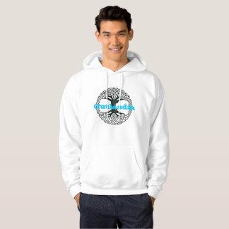 Outlandia - arbre - sweat - shirt à capuche avec