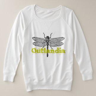 Outlandia - le sweatshirt des femmes de libellule