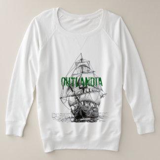 Outlandia - sweatshirt de Voyager des femmes