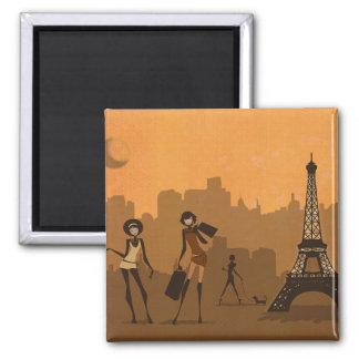 outre de pour faire des emplettes à Paris Magnet Carré