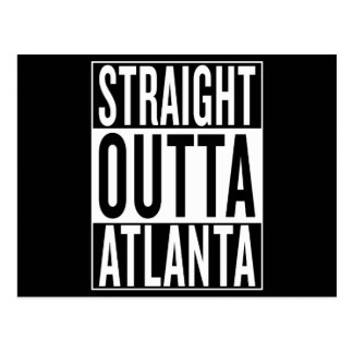 outta droit Atlanta Cartes Postales