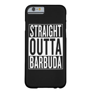 outta droit Barbuda Coque iPhone 6 Barely There