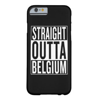 outta droit Belgique Coque Barely There iPhone 6