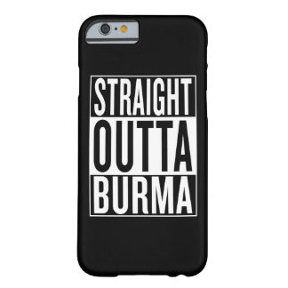 outta droit Birmanie Coque iPhone 6 Barely There
