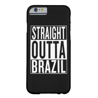 outta droit Brésil Coque Barely There iPhone 6