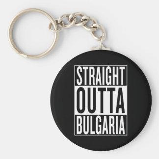 outta droit Bulgarie Porte-clé Rond