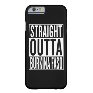 outta droit Burkina Faso Coque Barely There iPhone 6
