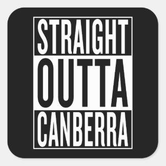 outta droit Canberra Sticker Carré