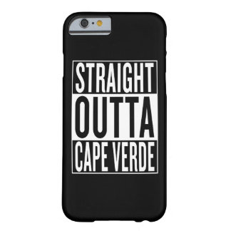 outta droit Cap Vert Coque Barely There iPhone 6