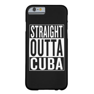 outta droit Cuba Coque iPhone 6 Barely There