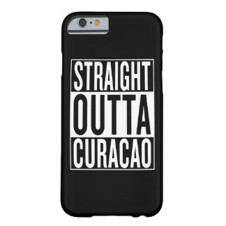 outta droit Curaçao Coque iPhone 6 Barely There