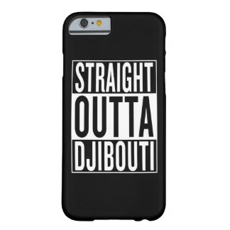 outta droit Djibouti Coque iPhone 6 Barely There