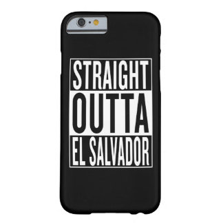 outta droit Salvador Coque Barely There iPhone 6