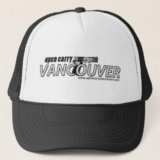 Ouvert portez le casquette de camionneur de