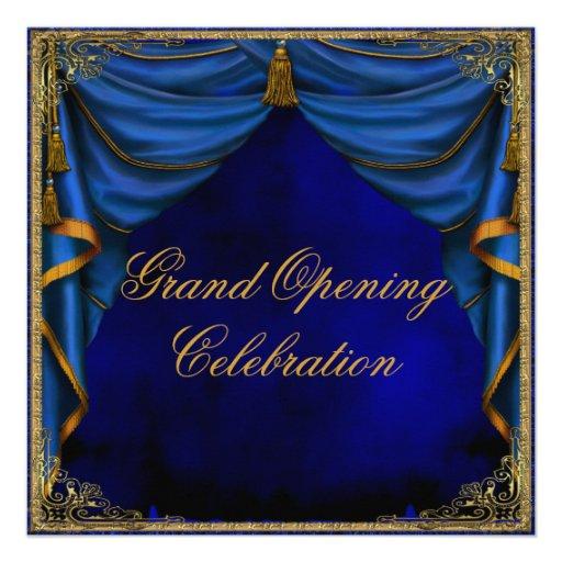Ouverture officielle d'entreprise constituée en so invitation personnalisée