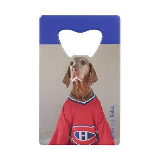 Ouvreur de bouteille d'hockey de Canadiens de