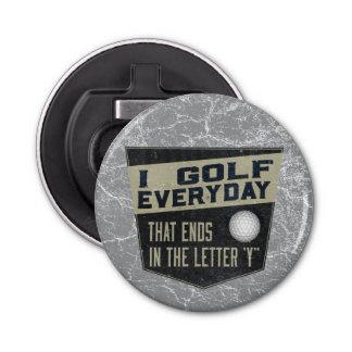 Ouvreur de bouteille drôle de golf