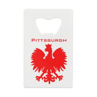 Ouvreur de bouteille polonais de Pittsburgh Eagle