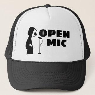 Ouvrez le casquette de camion de MIC