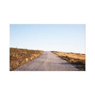 Ouvrez le paysage de route toiles