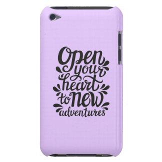 Ouvrez votre coeur à de nouvelles aventures coques iPod touch