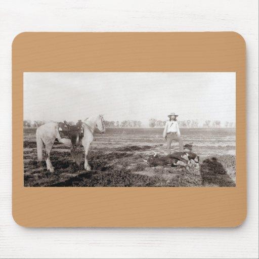 Ouvrier agricole - cru tapis de souris