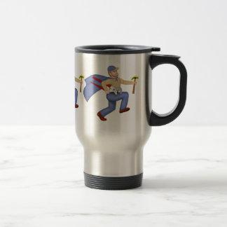 Ouvrier chargé de l'entretien mug de voyage